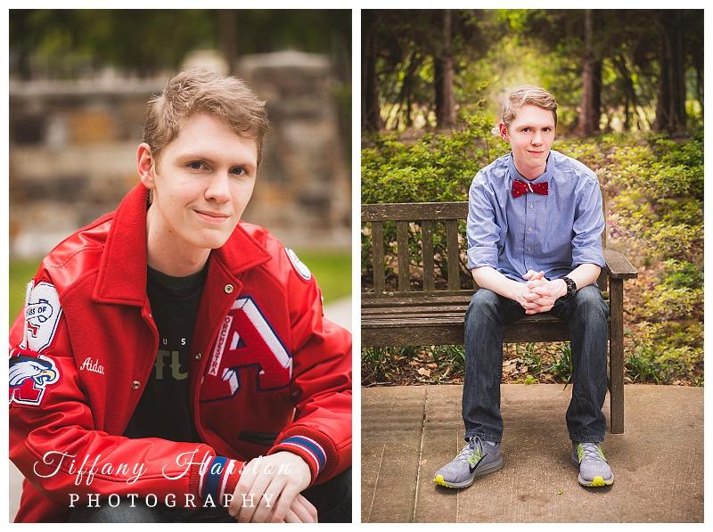 atascoita high school senior photos in greenery