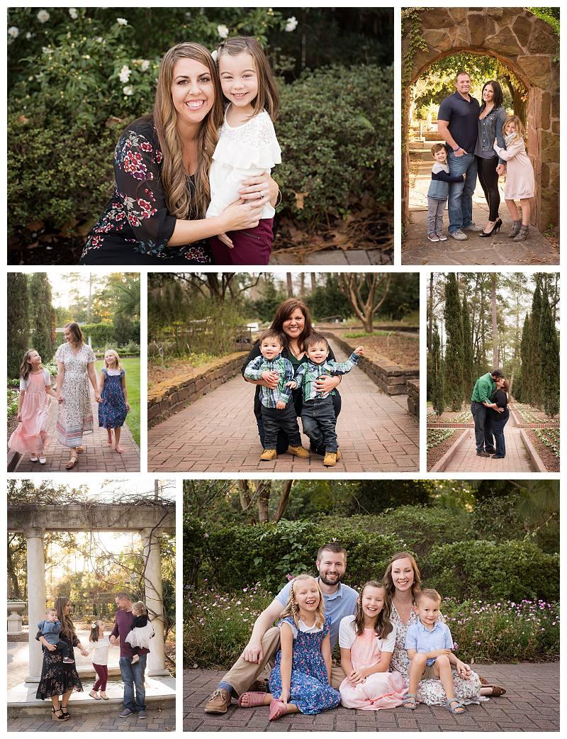 humble texas photography location mercer botanical garden
