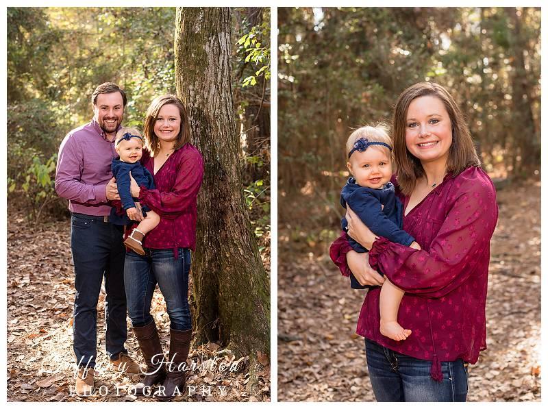 creekwood nature area family photo