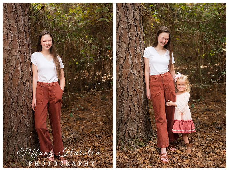 kingwood family photos in the forest