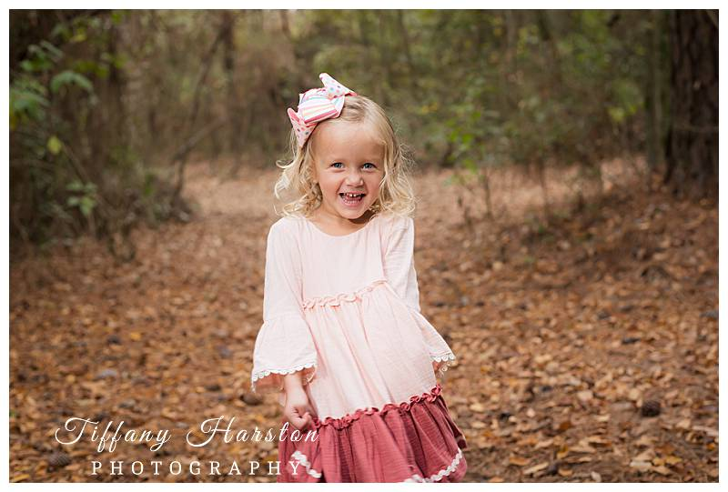 kingwood family photos in the woods