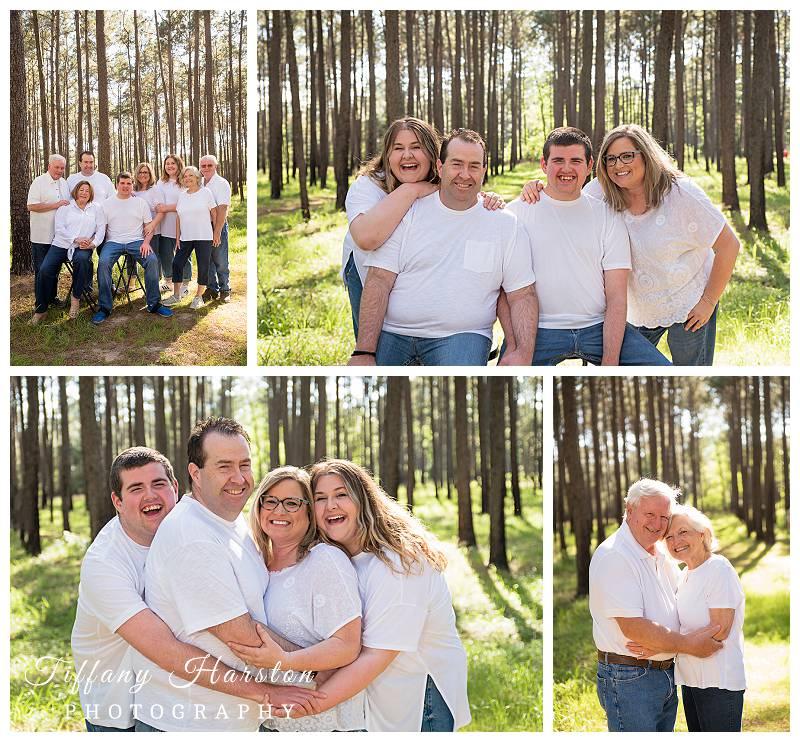 conroe family photo shoot location