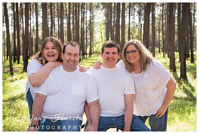 houston family photos in spring