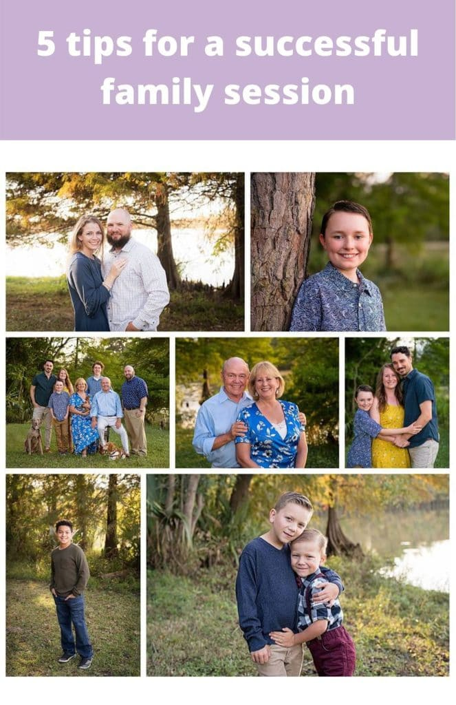 HUMBLE family photographer five tips for a successful session